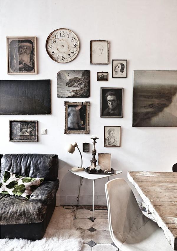 Persoonlijke styling in je interieur lijsten aan de muur pimpelwit styling - Interieur muur ...