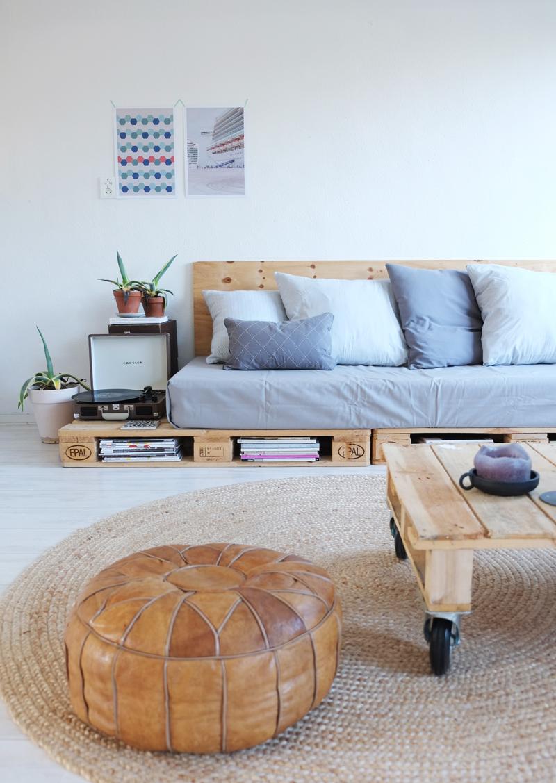 De palletbank op showhome pimpelwit styling interieurontwerp en styling advies - Idee van interieurontwerp ...