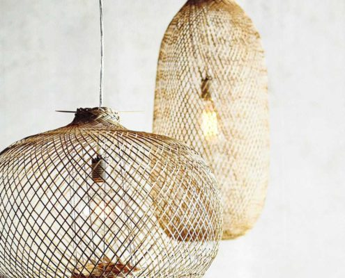 Pimpelwit interieurontwerp lamp riet Roost-Chedi-Bamboo-Pendants-1