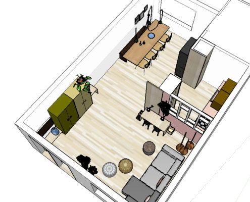 Pimpelwit interieurontwerp huis make-over-interieur-flos-hay-industrieel-muuto