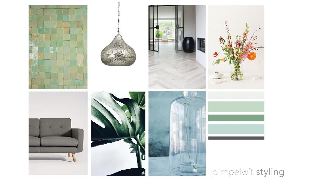Interieurontwerp-3D-pimpelwit-styling-woonkamer-3 tips voor kleuren en materialen in huis-utrecht-woontips-moodboard