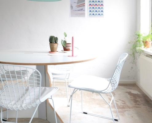 3 X een andere stijl met tafel en eetkamerstoelen
