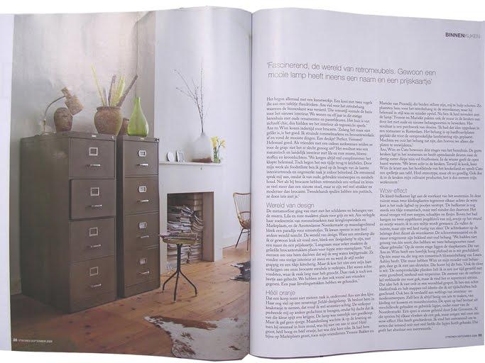 Wonen In Wit : Vt wonen binnenkijkem pimpelwit interieur