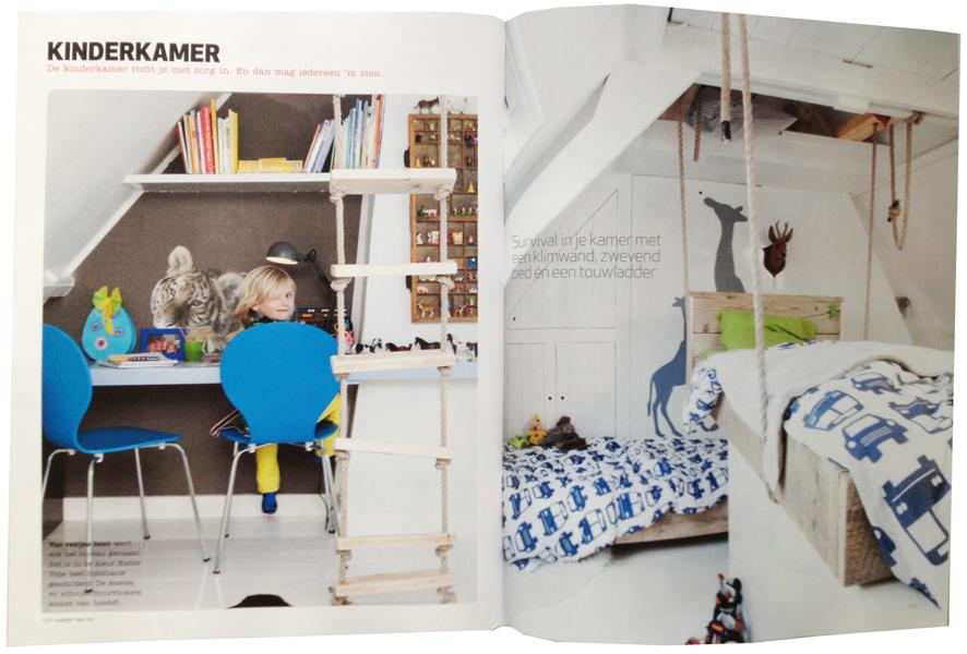 Kinderkamer inspiratie : duuk en maas pimpelwit interieur