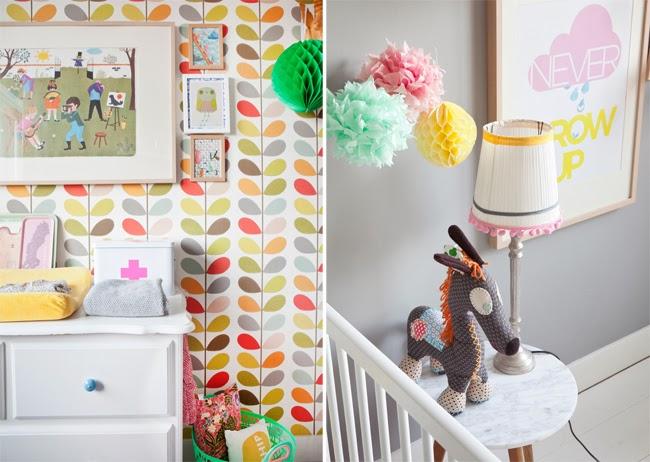 Behang Voor Kinderkamer : Kinderkamer inspiratie mooi behang en leuke hoekjes pimpelwit