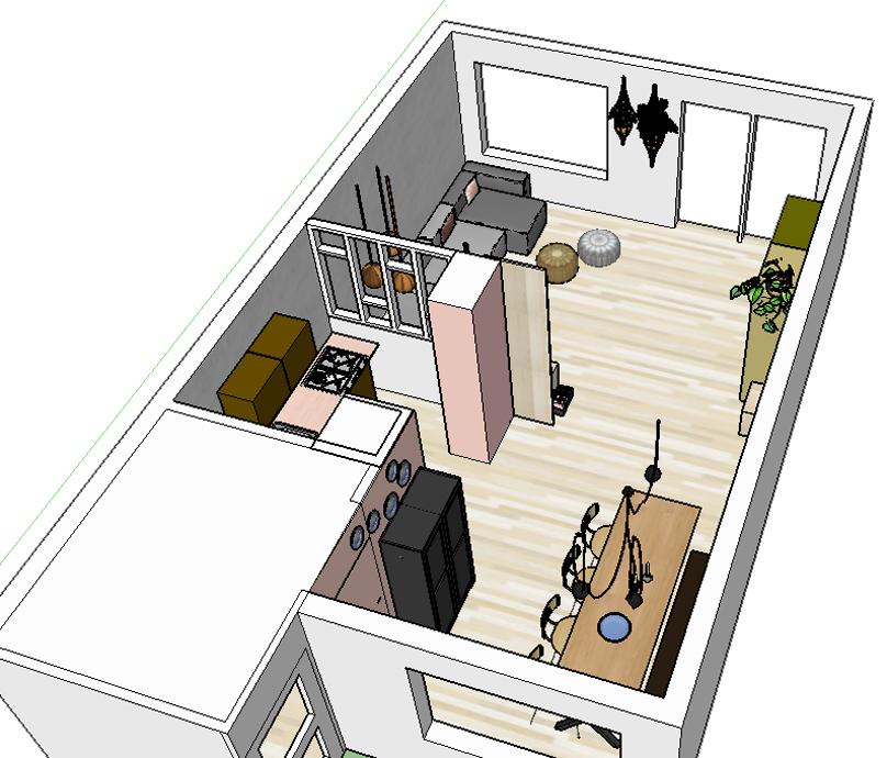 Pimpelwit interieurontwerp huis make-over-interieur-flos-hay-industrieel-muuto-schoolstoel-zuiver