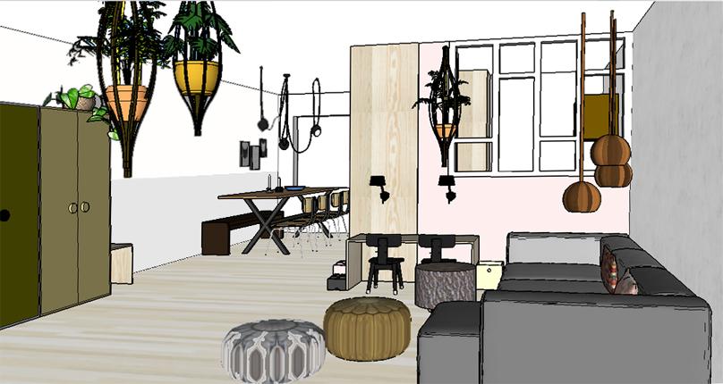 Pimpelwit interieurontwerp huis make-over-interieur-flos-hay-industrieel-muuto-underlayment