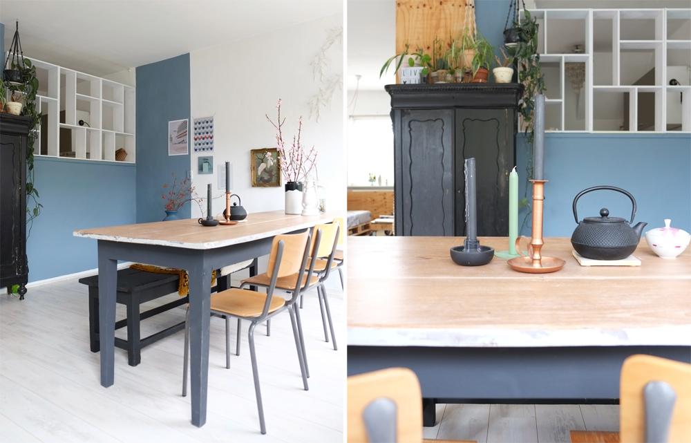 Pimpelwit interieurontwerp-sketchup-3D-layout-Hay-Flos-zwart-wit-beton-underlayment.11