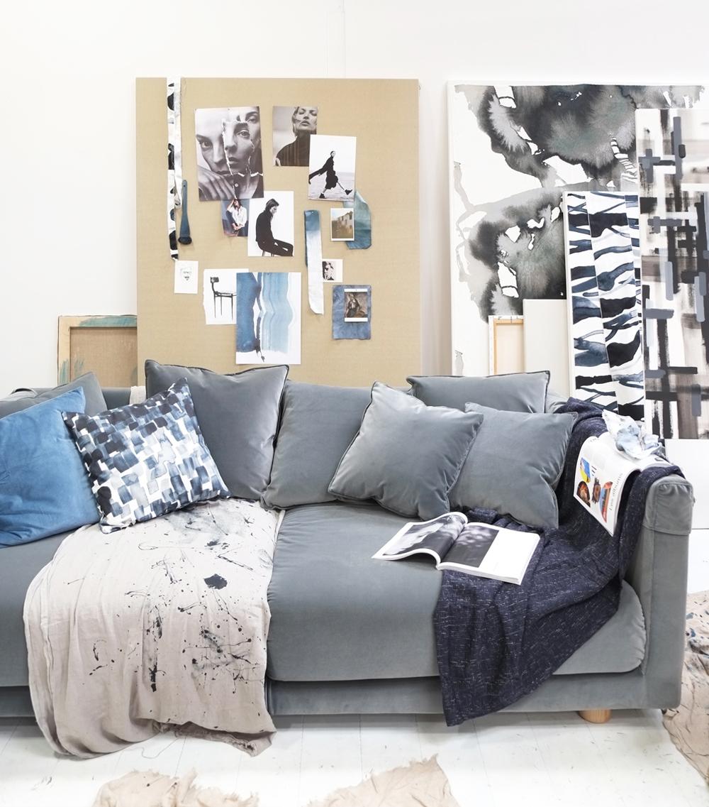 Pimpelwit_interieurontwerp_Ikea_de ideale werkplek-salonedelmobile2017_atelier_werkruimte_ban_schildersezel