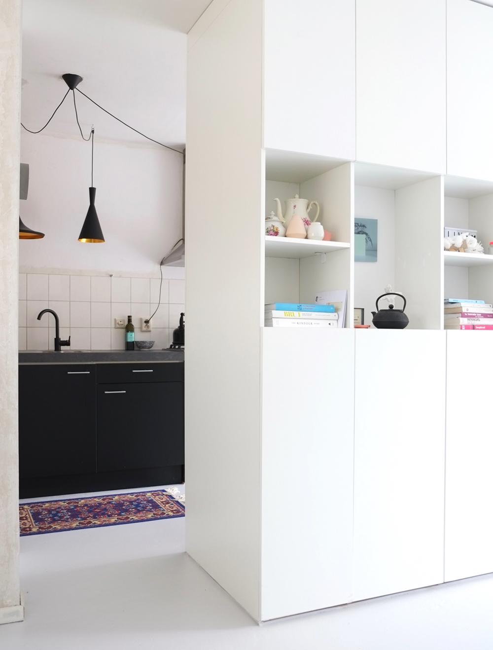 Interieuradvies interieurstyling gietvloer zwarte keuken for Interieuradvies utrecht